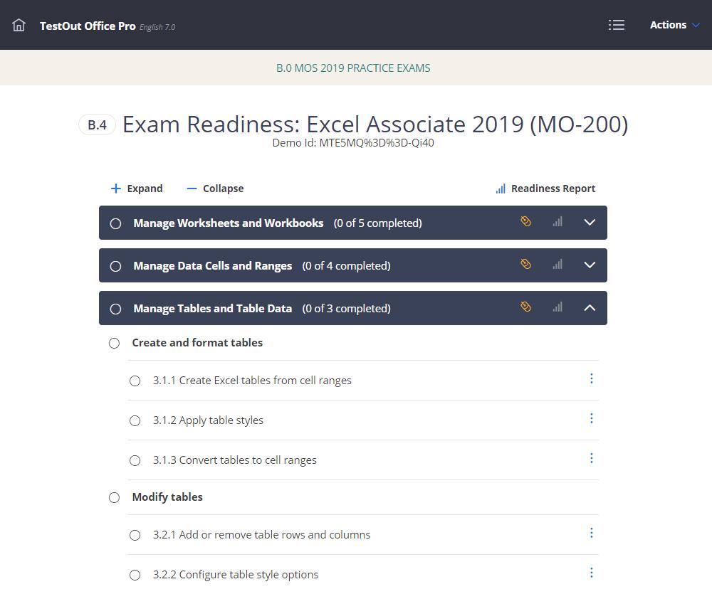 Office Pro - Exam Readiness Tool 2